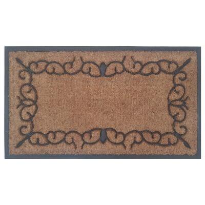 Castro Coir & Rubber Doormat, 70x40cm