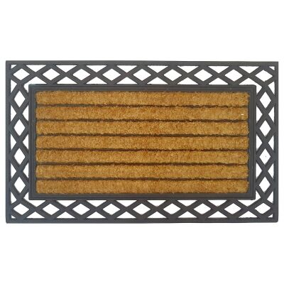 Cellere Coir & Rubber Doormat, 75x45cm
