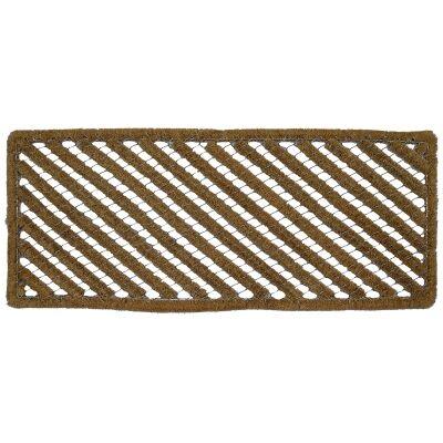 Maxwell Wired Coir Bootscraper Doormat, 100x40cm