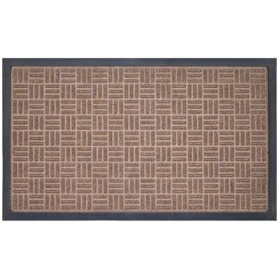 Cox Marine Carpet Doormat, 75x45cm, Brown