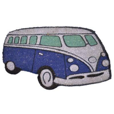 Kombi Coir Doormat, 75x43cm, Blue