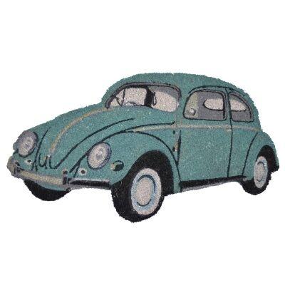 Kombi Coir Doormat, 75x42cm, Turquoise