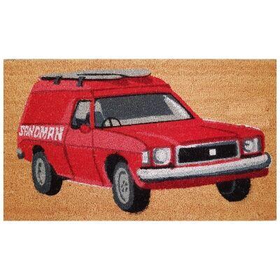 Sandman Coir Doormat, 75x45cm
