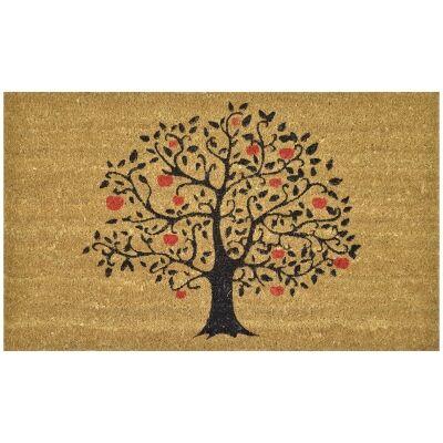 Apple Tree Coir Doormat, 75x45cm
