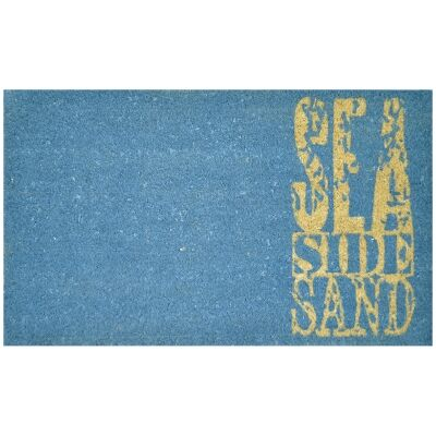 Sea Side Sand Coir Doormat, 75x45cm