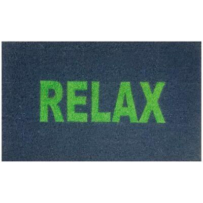 Relax Coir Doormat, 75x45cm