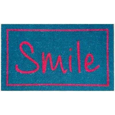 Smile Coir Doormat, 75x45cm