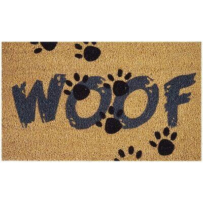 Woof Coir Doormat, 75x45cm