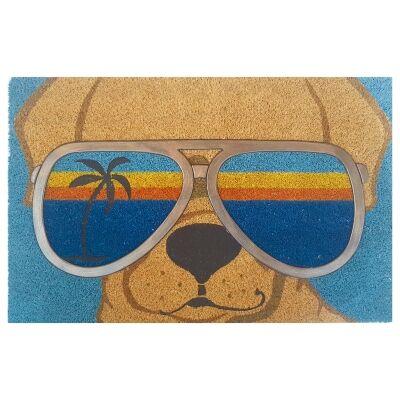 Sunshine Beach Dog Coir Doormat, 75x45cm