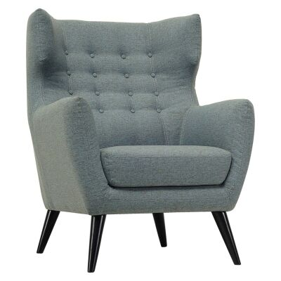 Kanion Commercial Grade Fabric Armchair, Whale