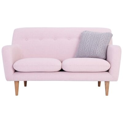 Sportage Fabric Sofa, 2 Seater, Pink