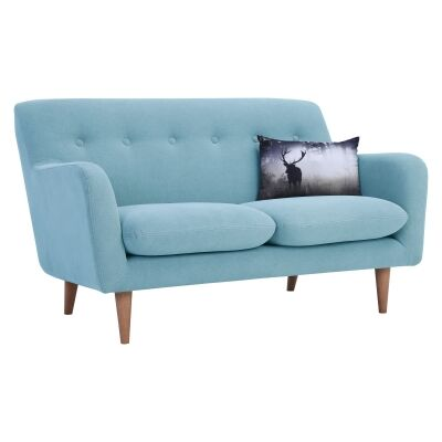 Sportage Fabric Sofa, 2 Seater, Aquamarine