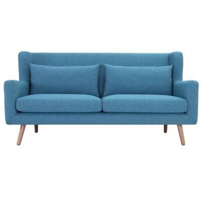 Safari Fabric Sofa, 3 Seater, Parsley