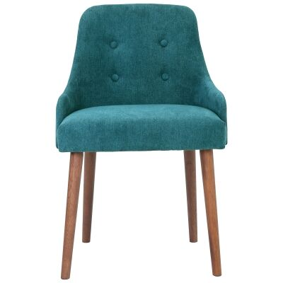 Caitlin Fabric Dining Chair, Green