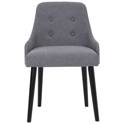 Caitlin Fabric Dining Chair, Grey