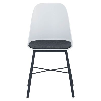 Laxmi Commercial Grade Dining Chair, White