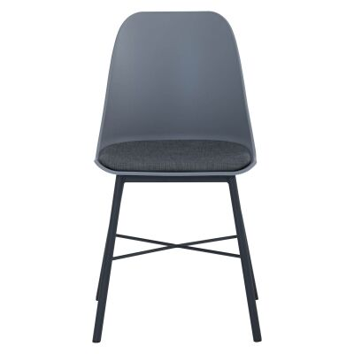 Laxmi Commercial Grade Dining Chair, Grey