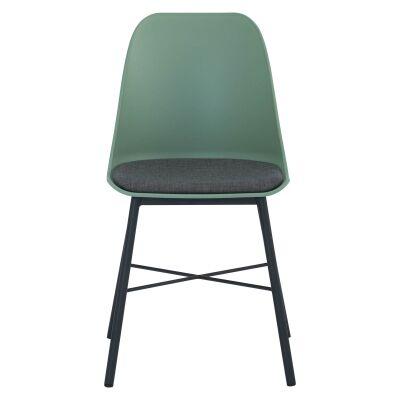 Laxmi Commercial Grade Dining Chair, Green