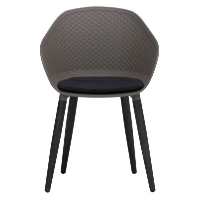 Unity Dining Armchair, Taupe