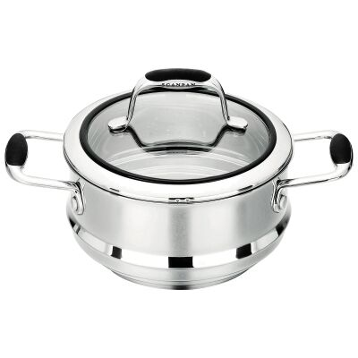 Scanpan Coppernox 16/18/20cm Multi Steamer with Lid