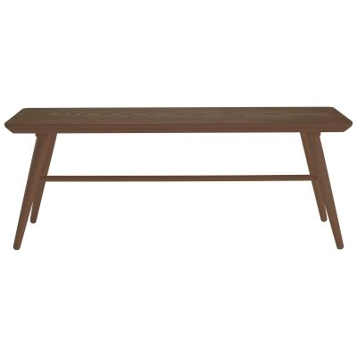 Marrim Wooden Dining Bench, 120cm, Cocoa