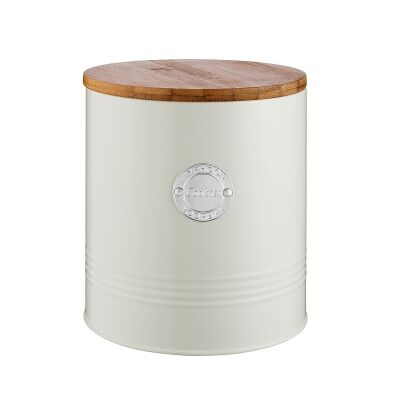 Typhoon Living Cookies Canister, 3.4 Litre, Cream