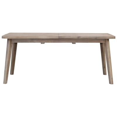 Vasto Acacia Timber Extensible Dining Table, 210-260cm