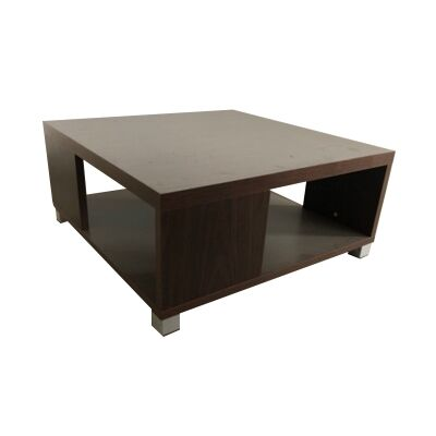 Cirrus Square Lamp Table, Walnut