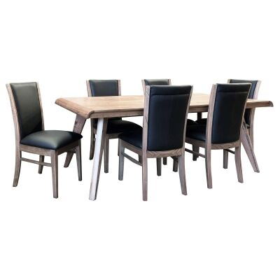 Baulkham Ashwood Timber Dining Table, 180cm