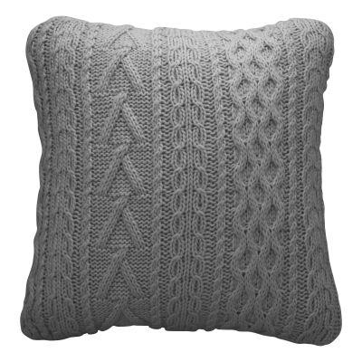Sakura Knitted Wool Scatter Cushion