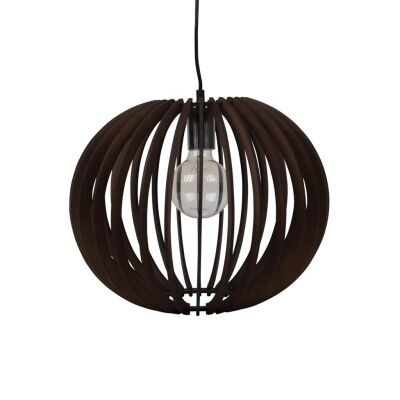 Puffin Timer Pendant Light, 40cm, Brown
