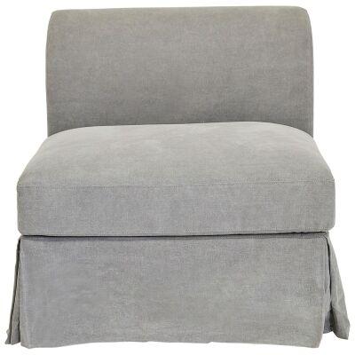 Tailor Linen Armchair with Skirt