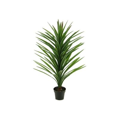 Potted Artificial Brazilian Yucca, 107cm