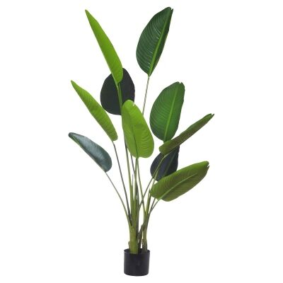 Potted Artificial Bird of Paradise Plant, Type B, 152cm