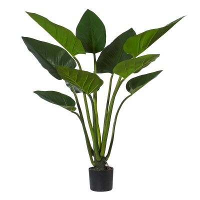 Potted Artificial Green Kingdom Plant, Type A, 120cm