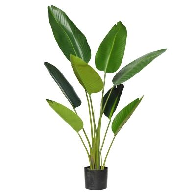 Potted Artificial Bird of Paradise Plant, Type B, 122cm