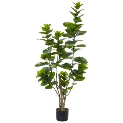Potted Artificial Stella Magnolia Bush, 138cm