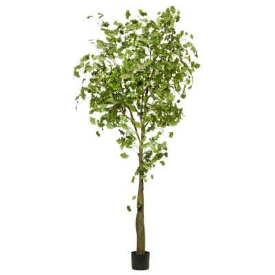 Potted Artificial Ginkgo Tree, 240cm