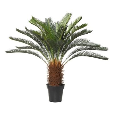 Potted Artificial Cycad Tree, 110cm