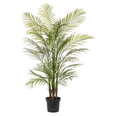 Potted Artificial Areca Palm, 135cm