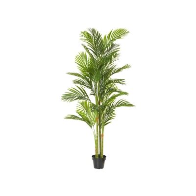 Potted Artificial Cane Palm Tree, Type C, 230cm
