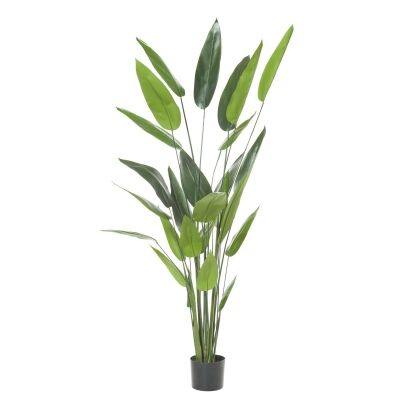 Potted Artificial Sky Bird Plant, Type B, 180cm