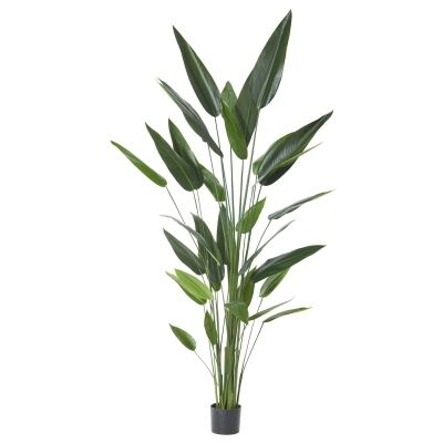 Potted Artificial Sky Bird Plant, Type B, 213cm
