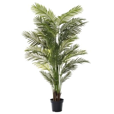 Potted Artificial Areca Palm Tree, 213cm