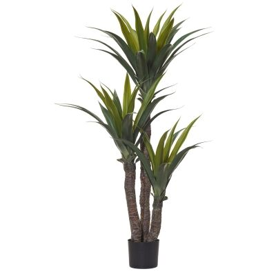 Potted Artificial Yucca Tree, 145cm