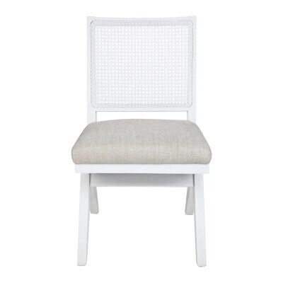 The Imperial Oak Timber Dining Chair, White