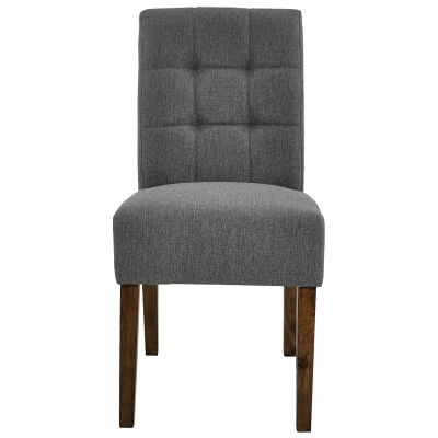 Jessie Fabric Dining Chair, Grey