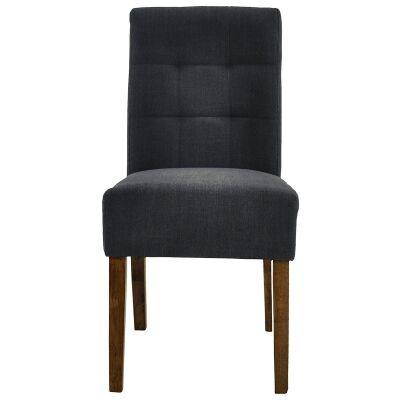 Jessie Fabric Dining Chair, Charcoal