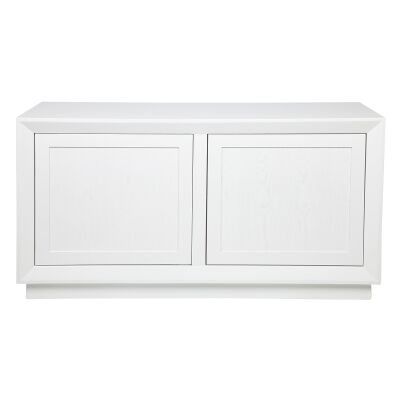 Balmain 2 Door Buffet Table, 135cm, White