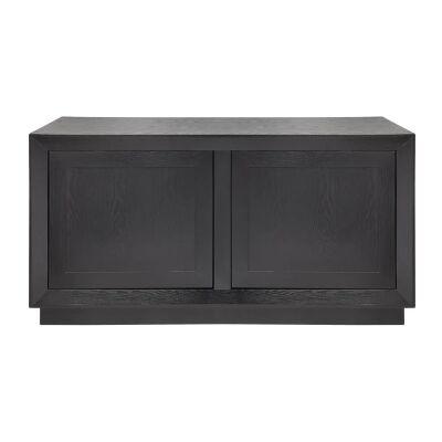 Balmain 2 Door Buffet Table, 135cm, Black